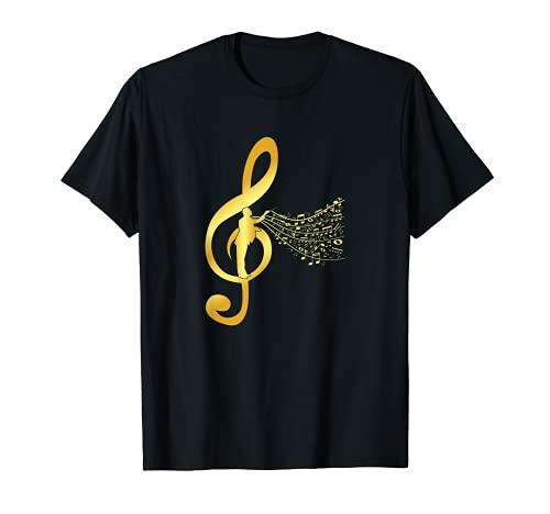 Coro Director Maestro Orquesta Clave Notas musicales Regalo Camiseta