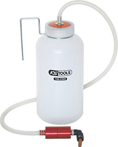 KS Tools 150.2305 Easy-Ventil-Entlüfter mit Auffangflasche