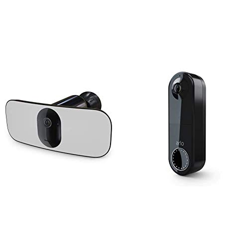 Pack Arlo composé de : Caméra Pro 3 Floodlight et Sonnette Vidéo...