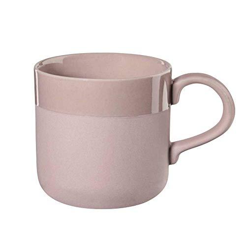 ASA 4407201 Henkelbecher - Kaffeebecher - Becher - rosepowder - Feinsteinzeug - Ø 9 cm - 0,25 l