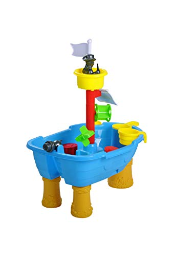 KNORRTOYS.COM Knorrtoys 57051 - Sand- und Wassertisch Piratenschiff