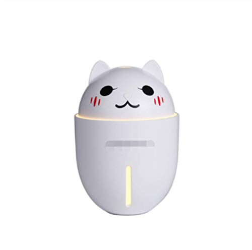 Humidificador De Aire Creative Led Night Light Usb Powered 350Ml Water Mini Aroma Diffuser Air Purifier Para Dormitorio Office