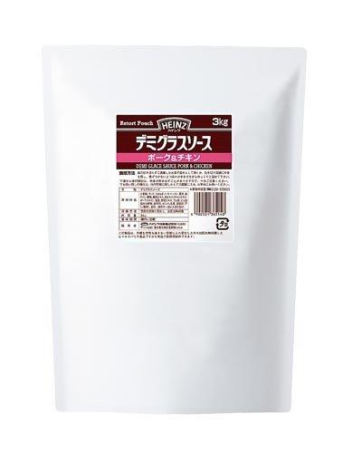 ハインツ デミグラスソースポーク&チキン 3kg【ポーク&チキンの旨み】