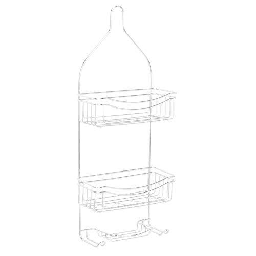 Amazon Basics - Estantería de ducha curvada
