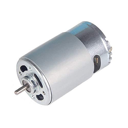 WNJ-TOOL, 1pc RS-550 Micro Bürstenmotor DC 12V 18000rpm High Speed Elektrische Mikromotoren for Verschiedene Akku-Schrauber Handbohrmaschine Werkzeug