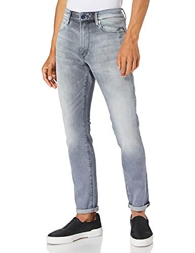 G-STAR RAW Mens Lancet Skinny Jeans, Sun Faded Glacier Grey A634-C464, 32W / 32L