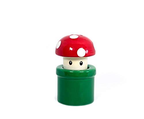 Nerd Block Super Mario Bros. Mushroom & Pipe Salt & Pepper Shakers
