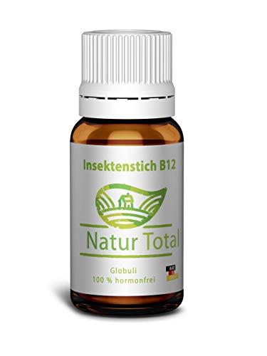 Insektenstich Vitamin B12 Globuli - natürliche Hilfe bei Mückenstichen Gelsen - Stichheiler - gegen Insektenstiche | Stichheiler nach Insektenstichen - Mückenstiche - Pflanzlich - 10g