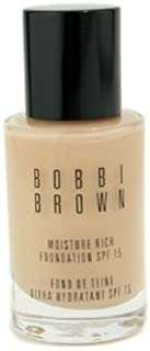 Exclusive Make Up Product By Bobbi Brown Moisture Rich Foundation SPF15 - #1 Warm Ivory 30ml/1oz