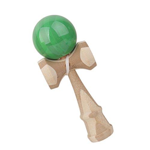 Unbekannt Bambus Kendama Spielzeug- Gruen