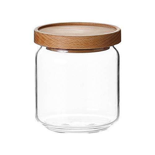 UANDM glas verzegelde pot Snack Jar met deksel glazen fles Graan Opbergdoos Opslag Tank Eenvoudig en handig Seal Design