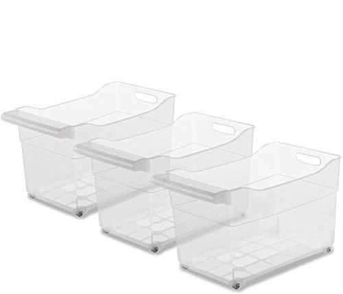 TIENDA EURASIA® Pack 3 - Organizador de Armarios de Cocina - Especial Almacenaje de Productos de Limpieza. Fabricado (XXL)