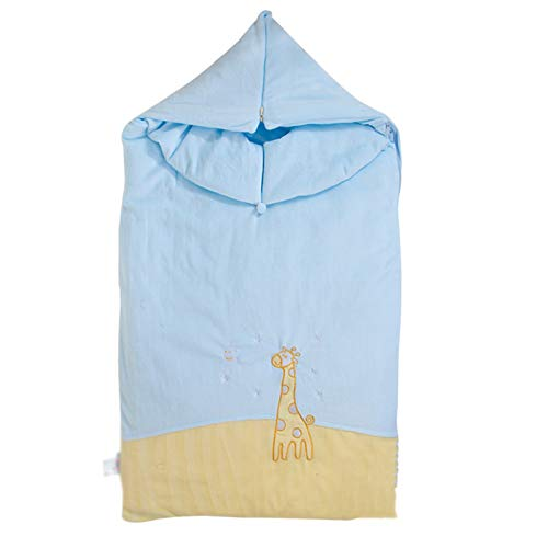 LUO Sacos de Dormir Saco de Dormir del algodón del bebé Cuatro Estaciones universales Saco de Dormir al bebé contra Tiro Colcha sobre de Dormir de los niños edredón Abrazo recién Nacido
