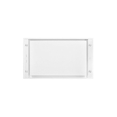 NOVY Pureline Deckenhaube 6836 Lack weiß EXTERN inkl. 5 Jahre Garantie und LED