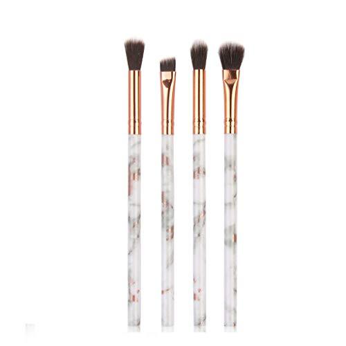 Pinceau de maquillage,Hunpta 4Pcs multifonctionnel brosse de maquillage Anticaler fard à paupières ensemble brosse (Multicolor)