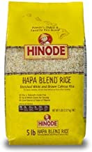 Hinode Calrose Medium Grain Hapa Blend Rice 5 Lb Bag