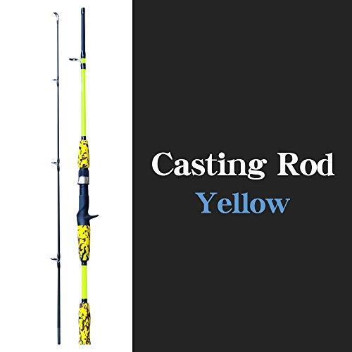 Hong Yi Fei-Shop Barra para Pesca Pesca Rod del Bastidor de la Mano Lure Carbono alimentador Carpa de trole de la Mosca Engranaje Ultraligero Viaje caña de Pescar cañas de Pescar
