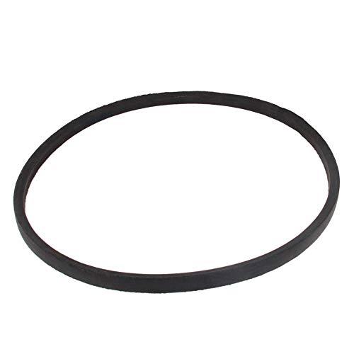 Material de goma de correa trapezoidal industrial M-24 Tipo Color negro 1 piezas para taladro de columna Fácil de mecanizar