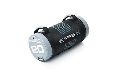 ESCAPE Corebag Gewichtssack Training Fitnessbag Powerbag Crossfit Gewicht, schwarz/Grau, 20 kg