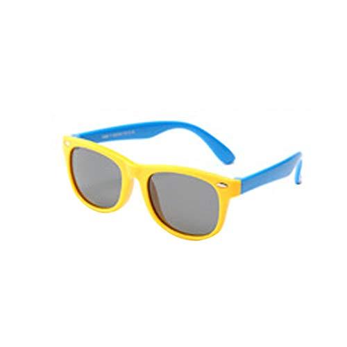 OIJN Fireworks Gafas de Sol para niña niño Gafas de sol flexibles de goma polarizadas para niños Protección 100%