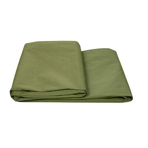 AJZGF Im Freien Thick Plane wasserdicht Sonnenschutz LKW-Plane Auto Schatten Winddicht trägt die Burka Anti-Aging, grün (Size : 5 * 7m)