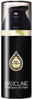 マックスクリニック[韓国コスメMaxclinic]Royal Caviar Oil Foam Black Edition ロイヤルキャビアオイルフォームブラックエディション110ml [並行輸入品]
