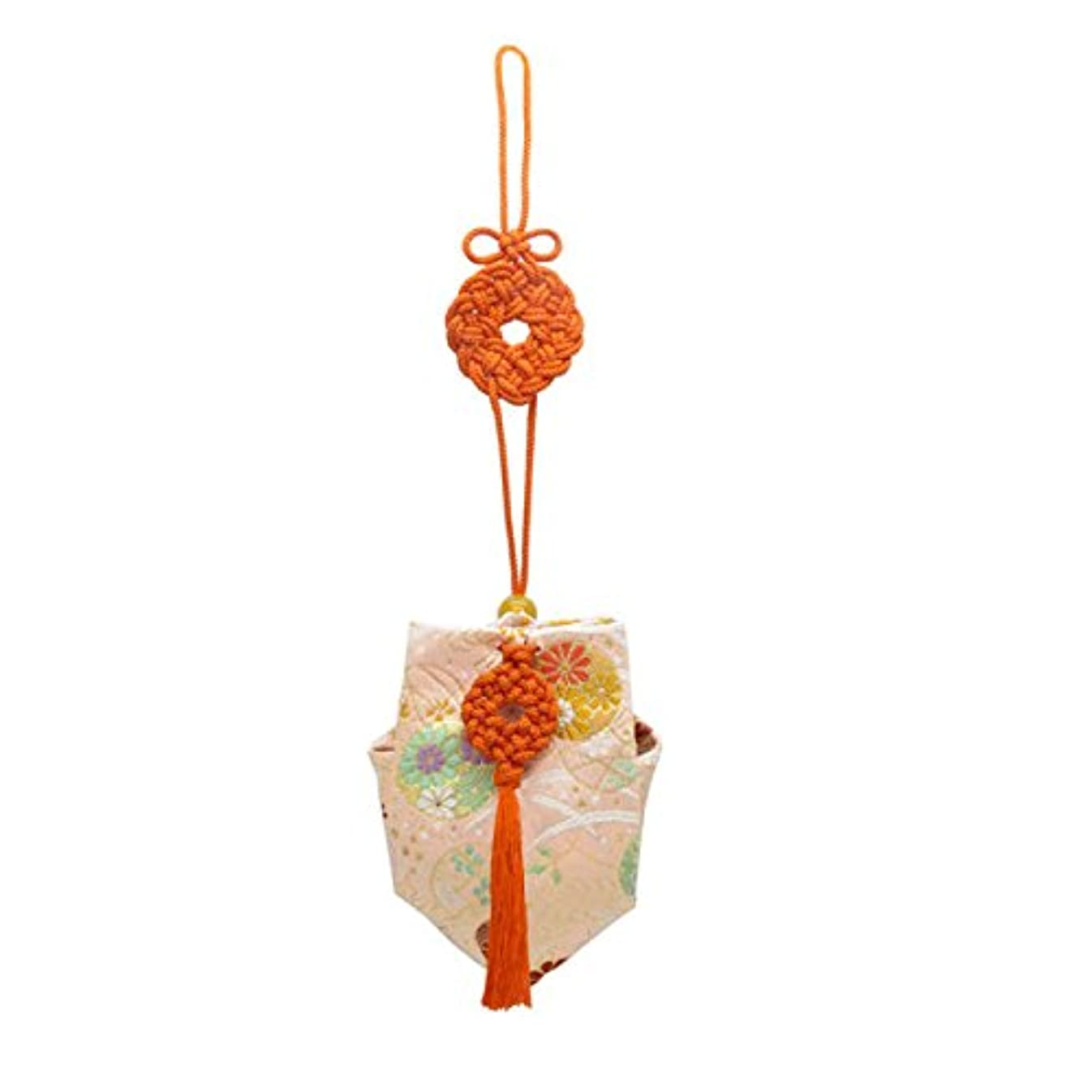 干渉するマージン擬人訶梨勒 上品 紙箱入 朱紐/花丸紋