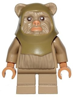 Lego Star Wars Minifigur Ewok Warrior aus 10236 (sw508)