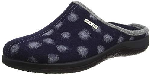 Rohde Damen Bari Pantoletten, Blau (Ocean 56), 36 EU