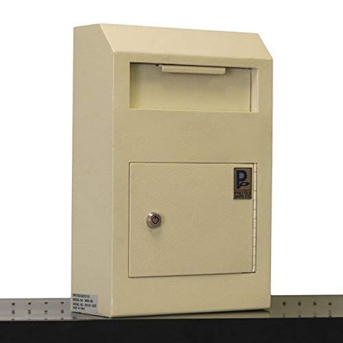 Protex Drop Box Safe (WDS-150),off-white