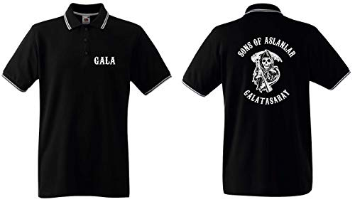 Sons of Aslanlar Herren Polo-Retro Galatasaray Ultras