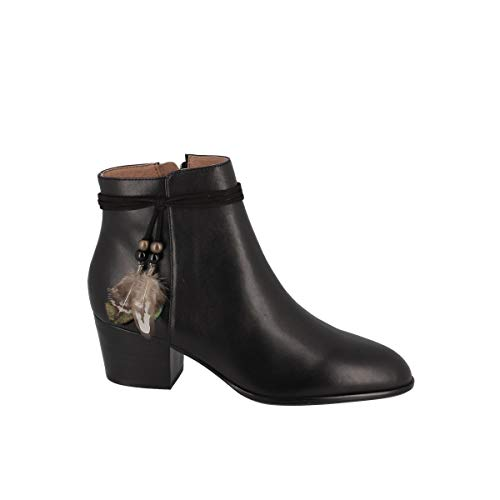 Boots avec Plumes à La La Cheville Story Boots Calf