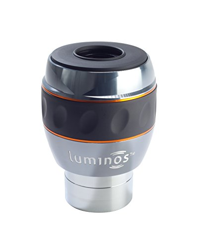 Celestron 93434 Luminos 23mm Eyepiece (Silver/Black)