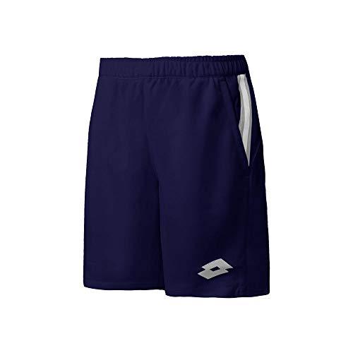 Lotto Teams PL - Pantaloncini da Ragazzo, Taglia L, Colore: Blu Scuro
