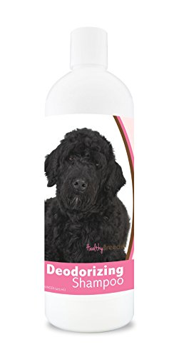 Healthy Breeds Dog Deodorizing Shampoo For Portuguese Water Dog - Over 200 Breeds - For Itchy Sensitive Dry Flaking Scaling Skin & Coat - Hypoallergenic Formula & Ph Balanced - 16 Oz