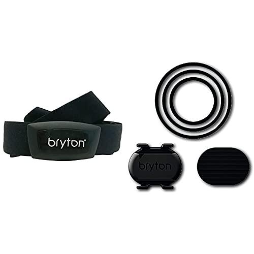 Bryton Ht03, Computer Gps Unisex – Adulto, Nero, M & Cd02, Computer Gps Unisex – Adulto, Nero, M
