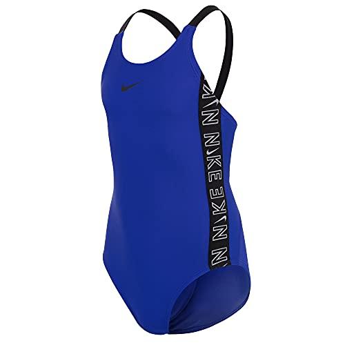 Nike Fastback One Piece Badeanzug Mädchen, Mädchen, Trainingsanzug, NESSB758-416, blau (Hyper ROYAL), 8 años