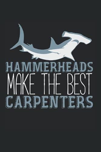 Hammerheads Make The Best Carpenters: A5 Tagesplaner Terminplaner Kalender, Hammerhai Witz Hai Haifisch Haie Fische