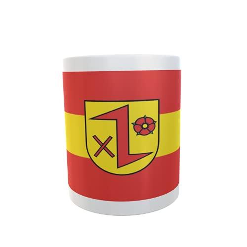 U24 Tasse Kaffeebecher Mug Cup Flagge Dinklage