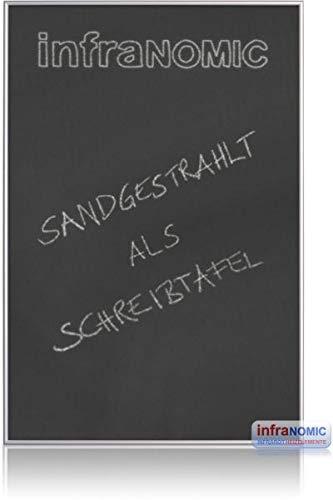 Infranomic Glasheizelement mit Sandstrahlmattierung Infrarot-Heizung