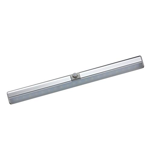LED Leuchte mit Bewegungsmelder, magnetisch, kaltweiß, USB Lampe mit Sensor, Unterbauleuchte