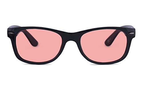 TheraSpecs Classic Migraine Glasses for Light Sensitivity, Photophobia and Fluorescent Lights   Unisex   Indoor Lenses