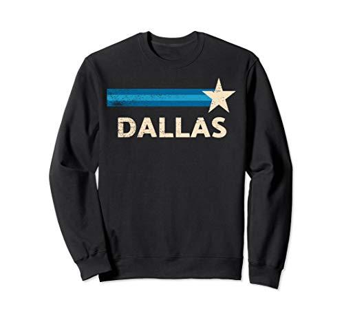 Retro Vintage Dallas distressed pro football Sweatshirt