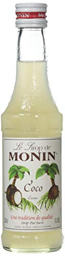 Monin Kokos / Coco Sirup, 250 ml Flasche