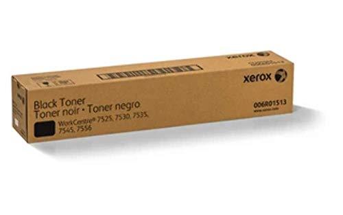 Xerox 6R1513 - Tóner para impresoras láser WorkCentre 7525/7530/7535/7545/7556, 26000 páginas, Color Negro