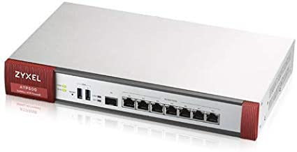 Zyxel Advanced Threat Protection Security UTM Firewall for Small Business Includes 1-Year UTM Services Bundled and Sandboxing Threat Protection [ATP500]