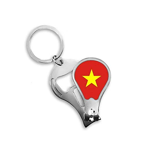 DIYthinker Vietnam Nationale Vlag Azië Land Toenail Clipper Cutter