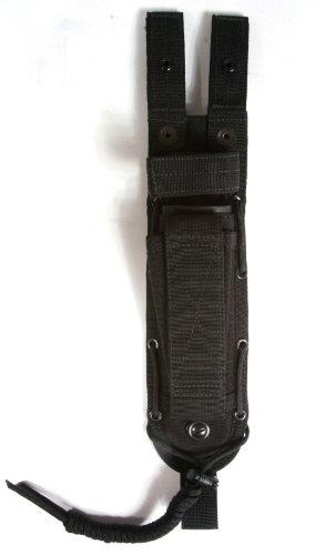 Spec-Ops Brand (100420101) Combat Master Knife Sheath 6-Inch Blade (Black, Short)