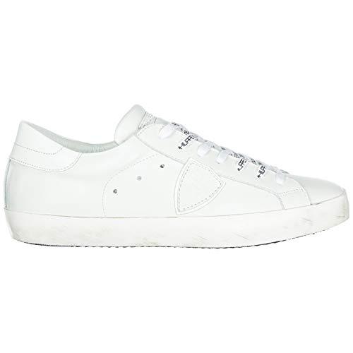 Philippe Model Herren Paris Sneaker Bianco 44 EU