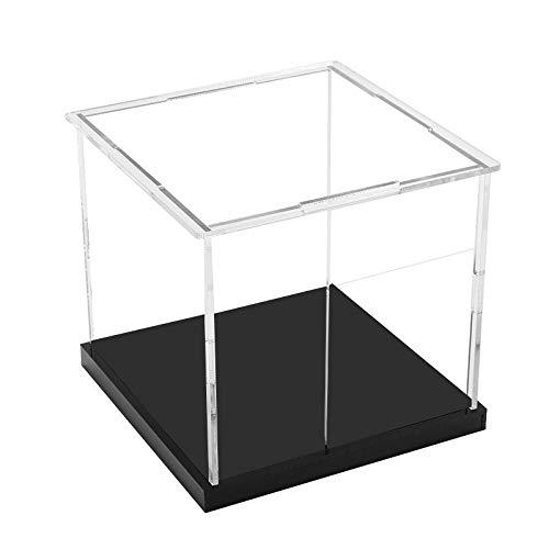 Visualizzazione Cube Vassoio Trasparente Perspex Acrilico Plastica 150MM SQ plinto